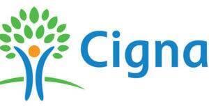 The logo for Cigna.